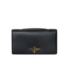 Christian Dior Bee Pouch Bag Black