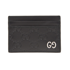 Gucci Signature Card Holder Black