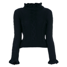 See By Chloe Ruffle Collar Jumper