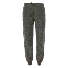 See By Chloe Perforated Sweatpants Green