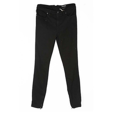 Tom Ford Zipper Bottom Jeans Black