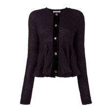 Philosophy Di Lorenzo Serafini Ribbon Ruffles Top Purple