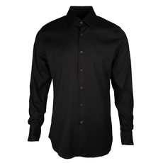 Prada Plain Stretch Shirt Nero