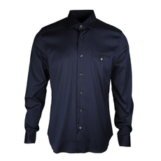 Prada Pocket On Chest Stretch Shirt Baltico