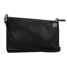 Loewe Puzzle Pouch Bag Black