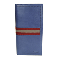 Bally Long Wallet Blue