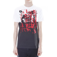 Dior Homme Print T-Shirt Red/Black