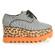 Stella Mccartney Platform Women's Others Black/White