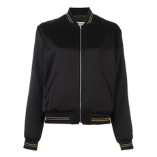 Saint Laurent Zip On Jacket Black