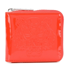 Kenzo Square Tiger Wallet Red