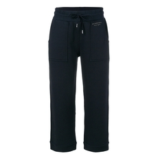Burberry Cropped Jogging Bottoms Navy