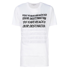 Stella Mccartney You Have Reached Your Destination T-Shirt White