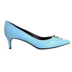 Versace Women's Heels Light Blue