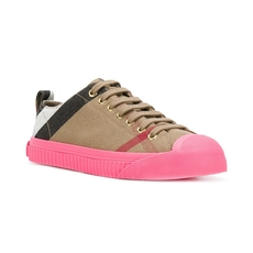 Burberry Canvas House Check Sneakers(3Cm)