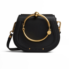 Chloé Small Nile Bracelet Shoulder Bag Black