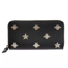 Gucci Patterned Wallet Black