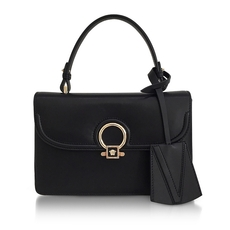 Versace Small Dv One Tote Bag Black