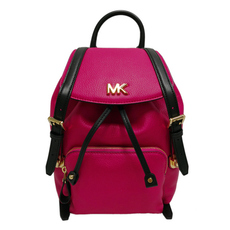 Michael Kors Beacon Small Backpack Ultra Pink/Black