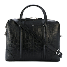 Givenchy Lucrezia Embossed Briefcase Black