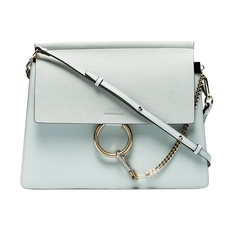Chloe Medium Faye Shoulder Bag Airy Grey
