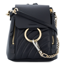 Chloe Mini Faye Backpack Full Blue