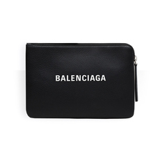 Balenciaga Everyday M Pouch Bag Black