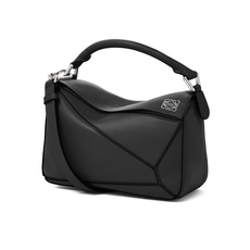Loewe Small Puzzle Crossbody Bag Black