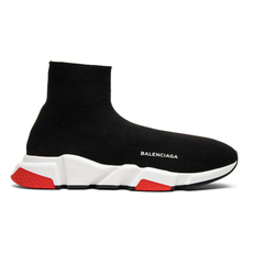 Balenciaga Speed Trainers Black Red