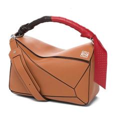 97805f31fbc12 Loewe Puzzle Wrap Bag Tan