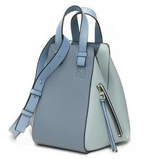 ec1d64a575050 Loewe Hammock Small Bag Aqua Light Blue Stone Blue
