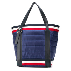 Moncler Amalgi Padded Tote Bag Blue