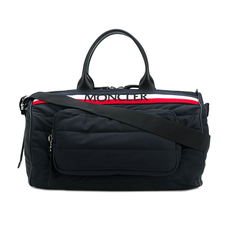 Moncler Kunulm Quilted Duffle Bag Black