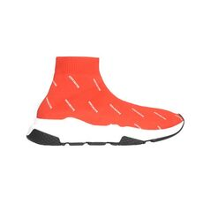 Balenciaga Speed Trainers With Stretch Balenciaga Printed Red(10Mm)