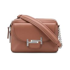Tod'S Camera Double T Mini Crossbody Bag Brown
