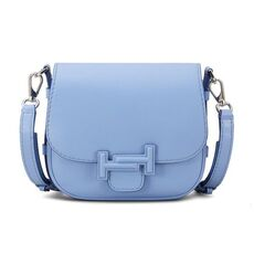 Tod'S Double T Mini Crossbody Bag Light Blue
