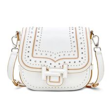 Tod'S Double T Mini Crossbody Bag White