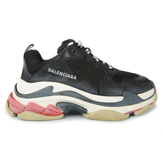 Balenciaga Triple S Trainers (10Mm Arch) Black/Red