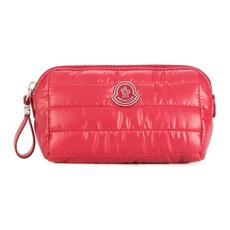 Moncler Nylon Cosmetic Pouch Red