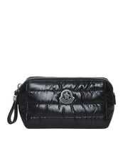 Moncler Nylon Cosmetic Pouch Black