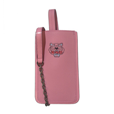 Kenzo Mini Tiger Shoulder Bag Phone Case Faded Pink