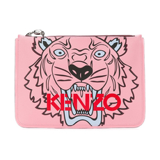 Kenzo A4 Tiger Clutch Faded Pink