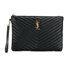 Saint Laurent Monogram Clutch Black