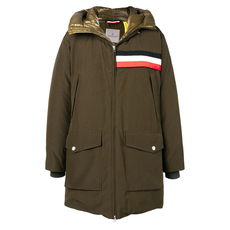 Moncler Genius 1952 Celan Down Coat Military Green
