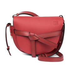 Loewe Gate Small Crossbody Bag Scarlet Red/Burnt Red