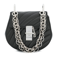 Chloe Drew Bijou Mini Crossbody Bag Black