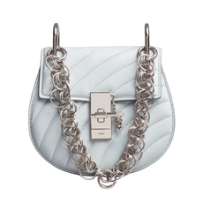 Chloe Drew Bijou Mini Crossbody Bag Airy Grey