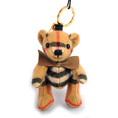 Burberry Thomas Bear Bag Charm Antique Yellow