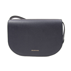 Balenciaga Small Ville Aj Day Shoulder Bag Black/Yellow