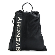 Givenchy Mc3 Drawstring Backpack Black/Yellow