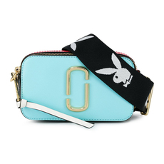 Marc Jacobs Snapshot Small Camera Bag Baby Blue Multi